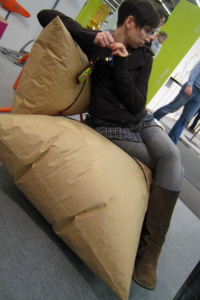 The blow sofa from Malafor