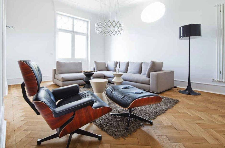 Eames Lounge Chair Vitra Black