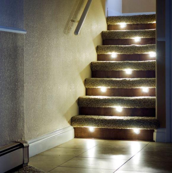 Etonnant Types Of Riser Lighting